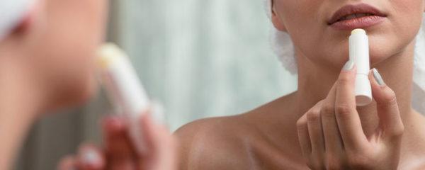 le dessèchement des lèvres